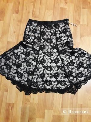 Гипюровая юбка NEXT UK8
