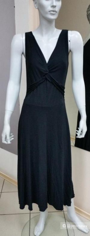 Элегантное летнее платье из вискозы на 42-44 р-р