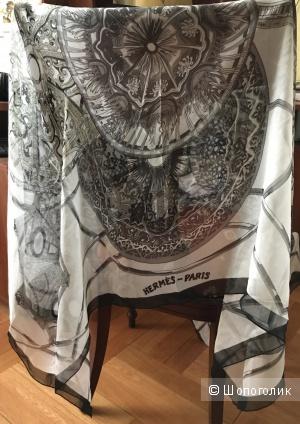 Платок шёлк Hermes