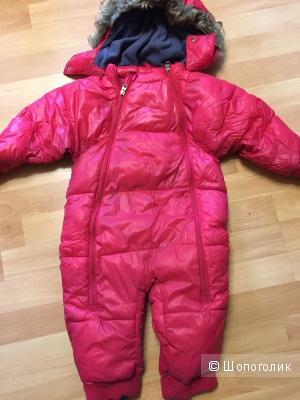 Ketch зимний шведский комбинезон на девочку 86 размер