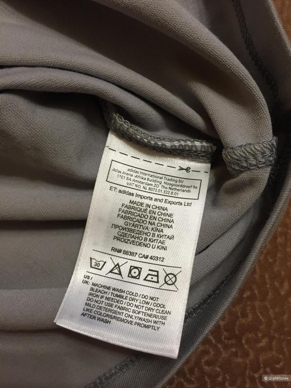 Новая женская футболка Adidas Climalite cotton размер M
