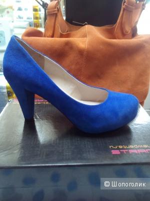 Породам красивые туфли Strange,р.40,новые.