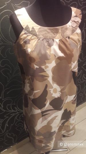 МЕХХ: платье-сарафан с камуфляжным принтом, евро 38