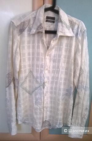 Мужская рубашка Zara 46 размер