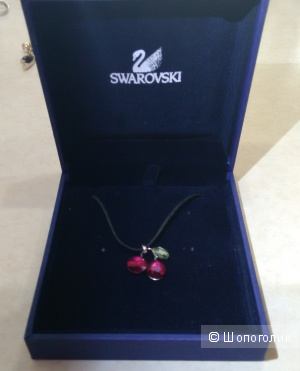 Чокер Swarovski, модель Fruity Cherry, 40 см