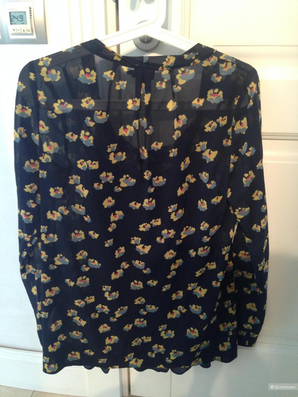 Блузка DKNY 42 размер (S) - шелк