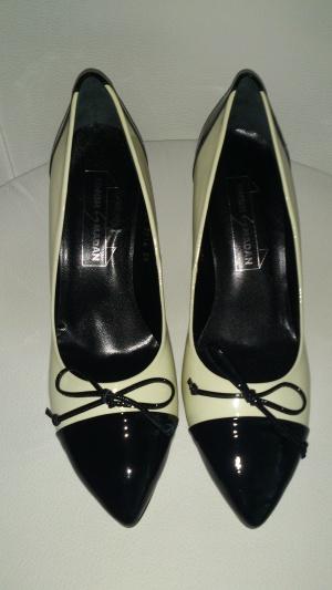 Туфли лакированные двухцветные SINGH S MADAN, размер 39, Европа