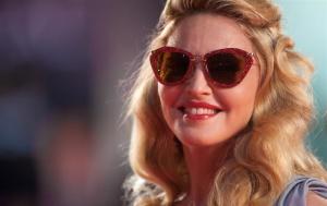 Miu Miu «Noir» очки с глиттером как у Мадонны