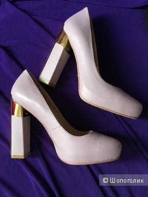 Туфли кожаные Vitacci, размер 38