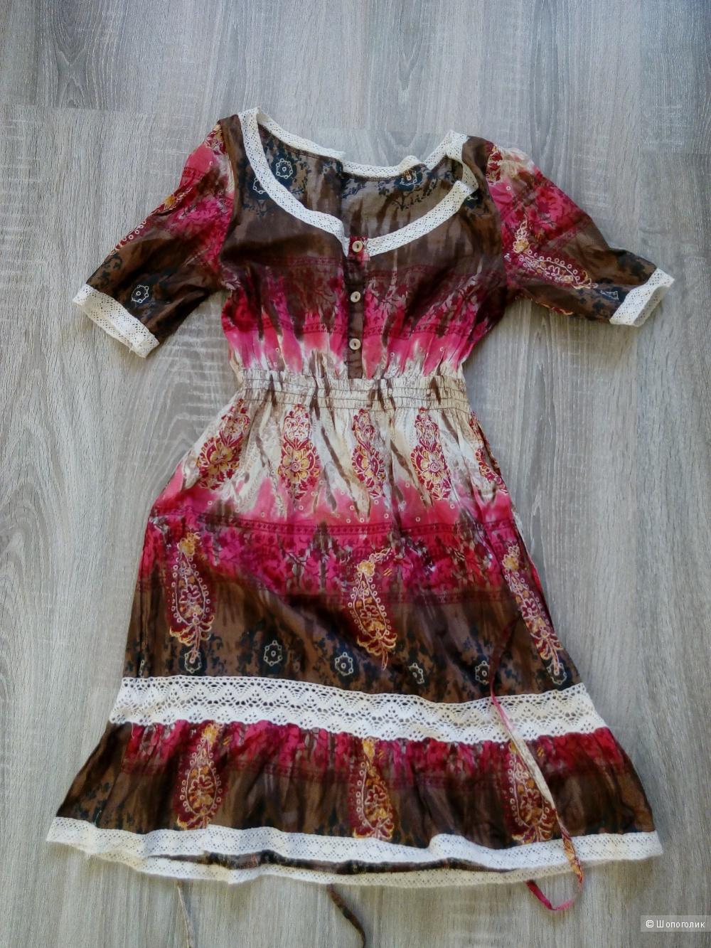 Платье летнее хлопковое Италия р-р 42-44