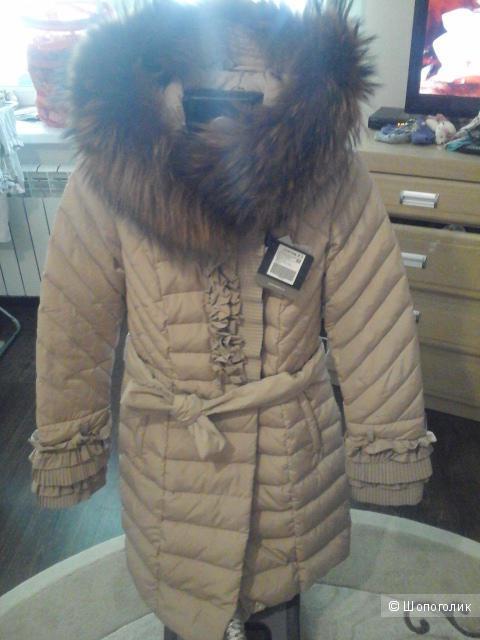 Новый пуховик пальто размер 42 lawine