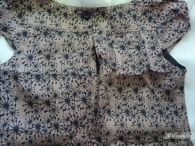 """Шёлковое платье """"Oasis"""", размер 12/38, б/у"""