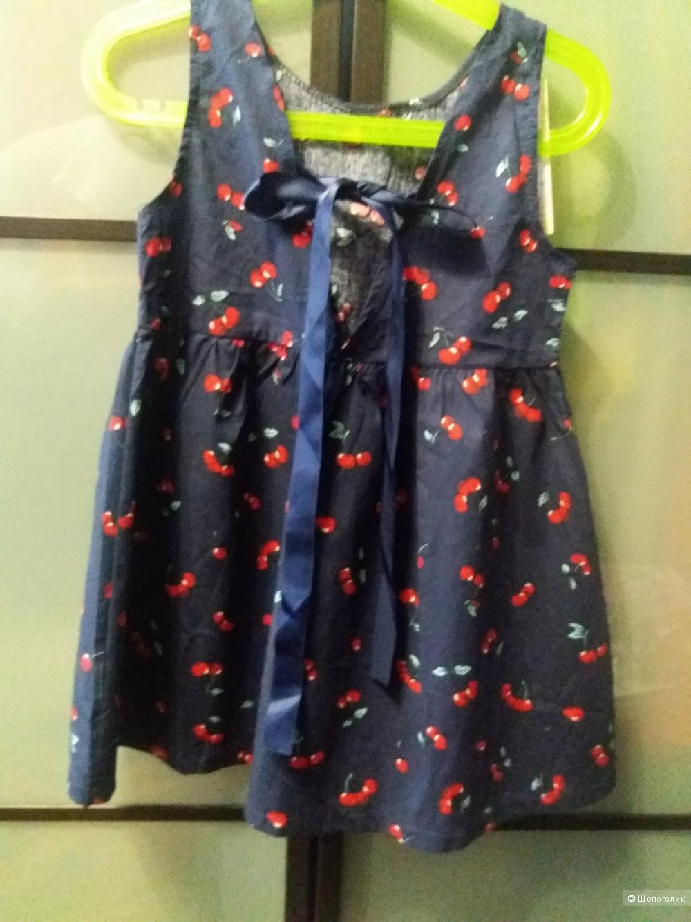 Платье детское летнее на рост 120