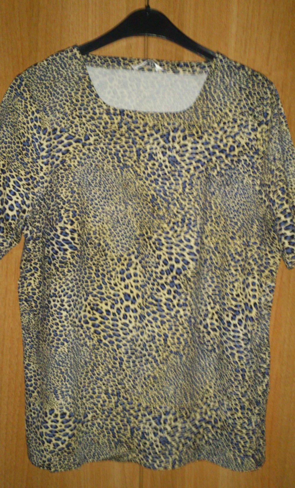 Блузка = футболка CAVITA, размер 46(нем) = 52-56 (рос), Германия