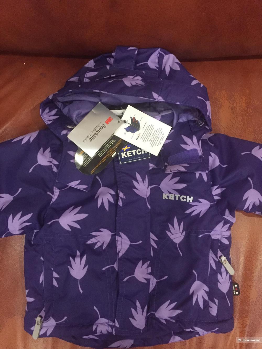 Ketch play новая мембранная курточка на девочку 92 размер