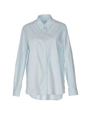 Голубая базовая рубашка Wood Wood (44-46 размер)
