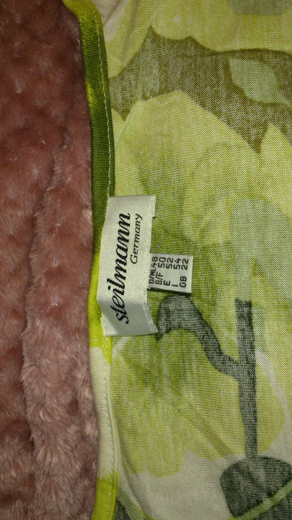 Блуза = футболка Steilmann, размер 48 (нем) = 50-54 (рос), Германия