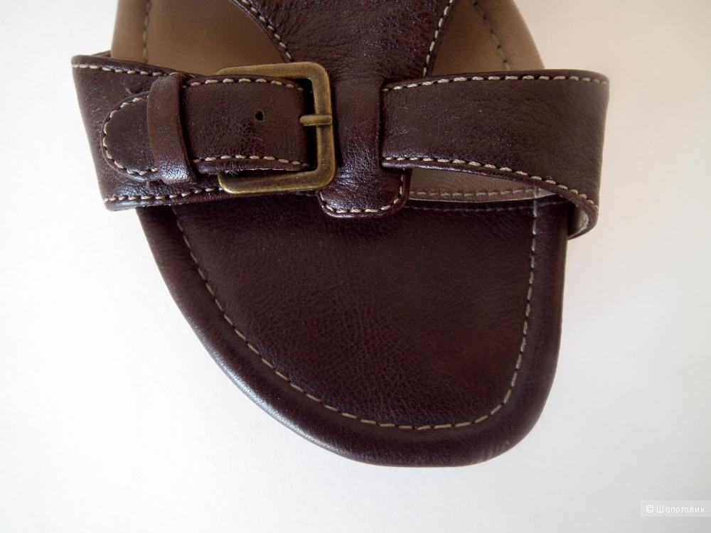 Сандали кожаные ECCO 39 размер