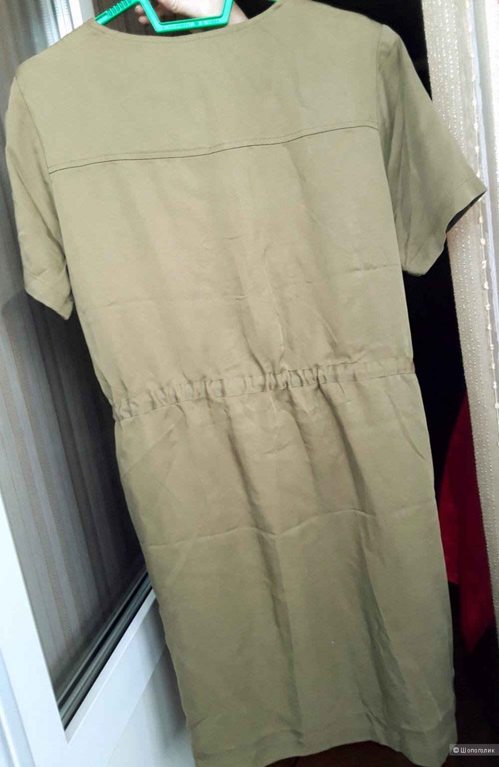 Платье-рубашка Cyrillus милитари р. 46-48 M-L