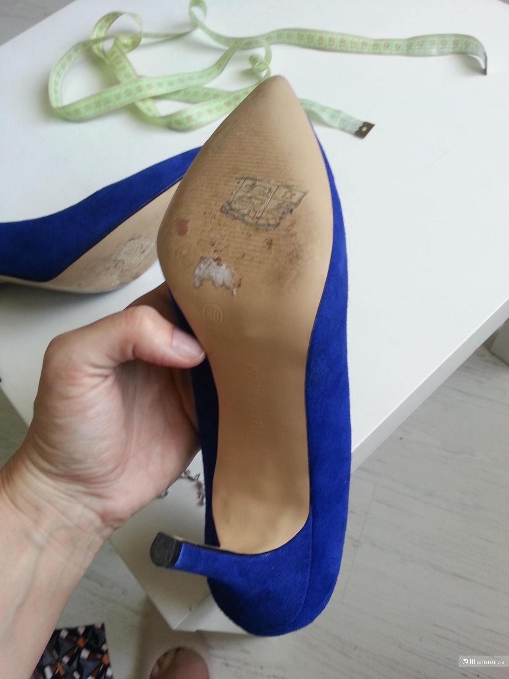 Туфли-лодочки классика 40 р. Алессио Неска натуральная замша