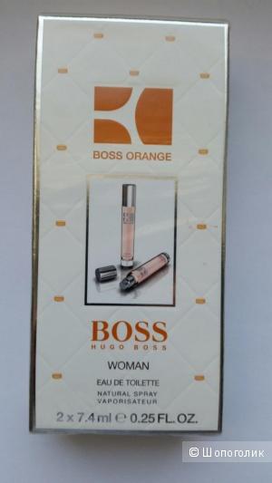 Туалетная вода  Boss Orange  2 х 7,4 мл