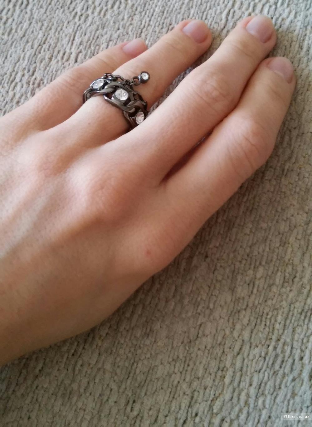 Новое кольцо Dyrberg Kern, размер 2