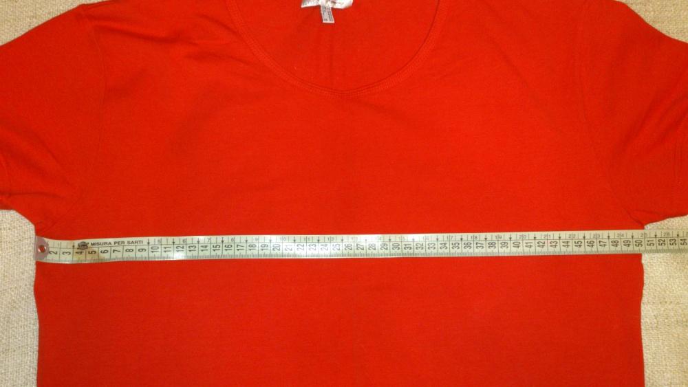 Футболка красная Steilmann, размер 46 (нем) = 50-54 (рос), Германия