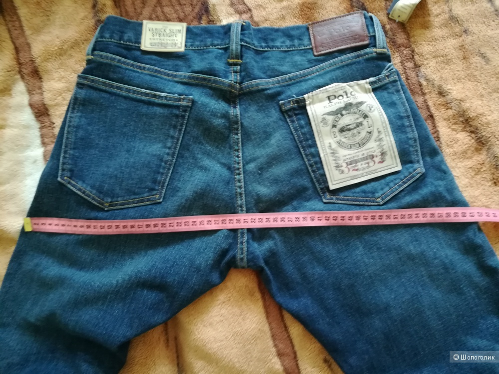Джинсы мужские Ralph Lauren, размер 32/32