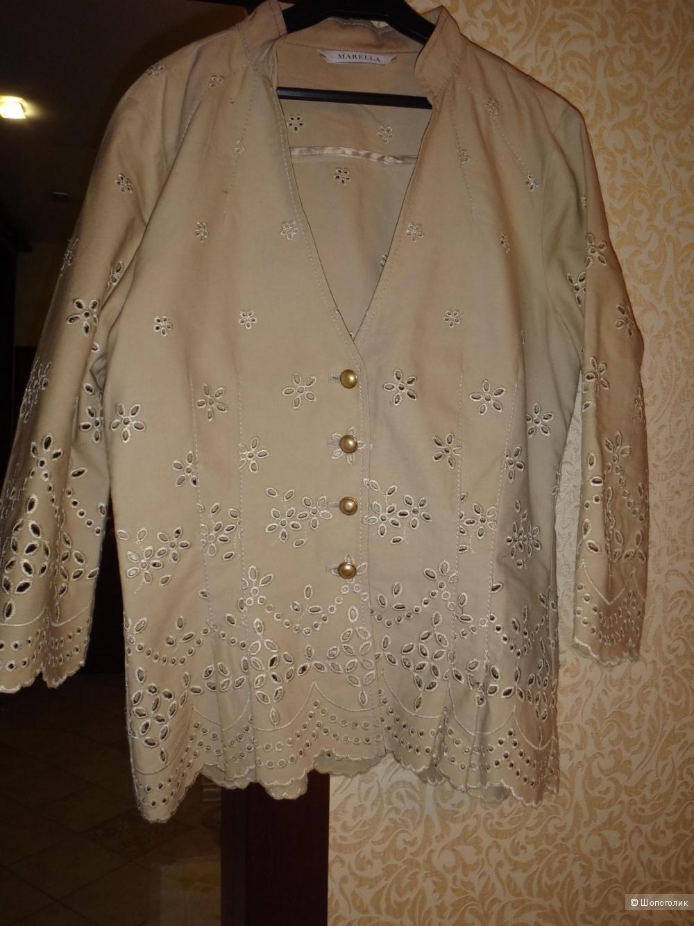 Летний пиджак 42-44 размер Италия