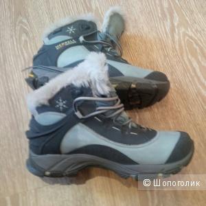 Зимние ботинки Merrell,размер 36-37