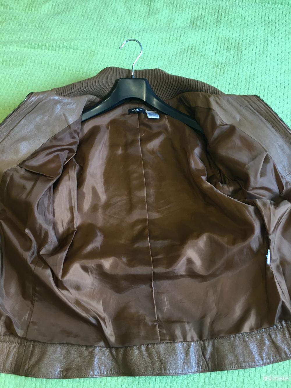 Кожаная куртка 44р.