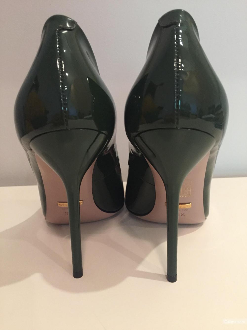 Gucci туфли , 38,5 р.новые .