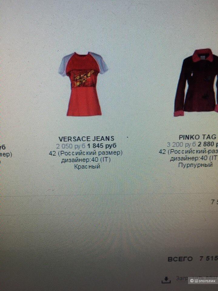 Футболка Versace Jeans,размер s,новая