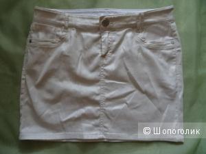 """Юбка с золотистым напылением """"Bonobo jeans"""", размер 44-46, б/у"""