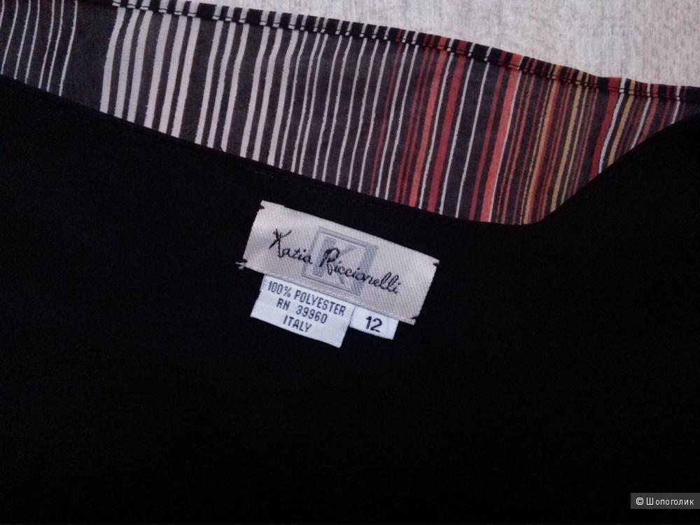 Шифоновое платье итальянского бренда Katia Ricciarelly 46-48 размера