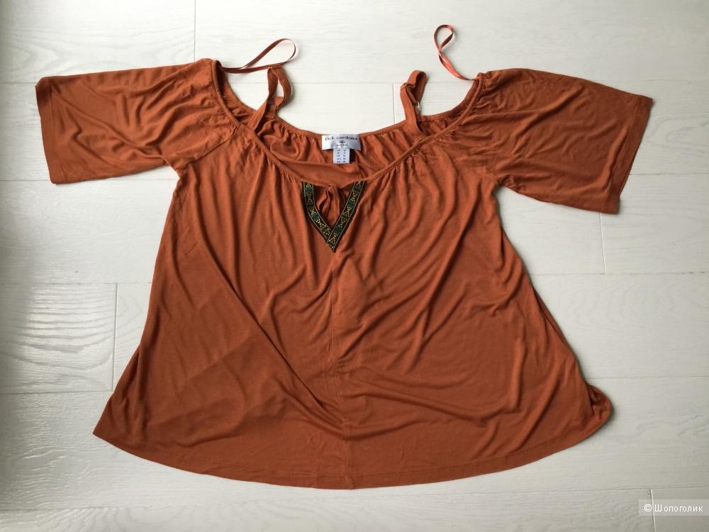 Кофточка открытыми плечами Rick Cardona, размер 44-46 (EUR 38)