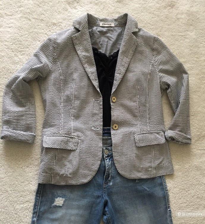Стильный летний пиджак женский немецкого бренда PUBLIC р.48-50