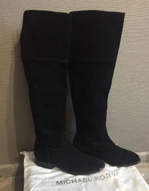 Замшевые ботфорты MICHAEL KORS, 37 размер