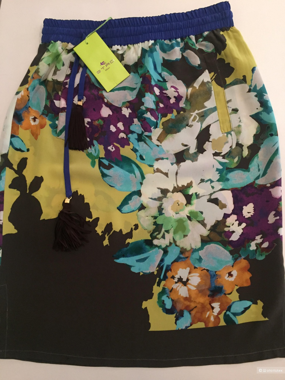 ETRO юбка шелковая , 42 р