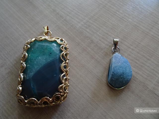 Подвески из натурального камня, б/у