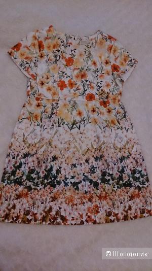 Платье ZARA для девочки р. 128