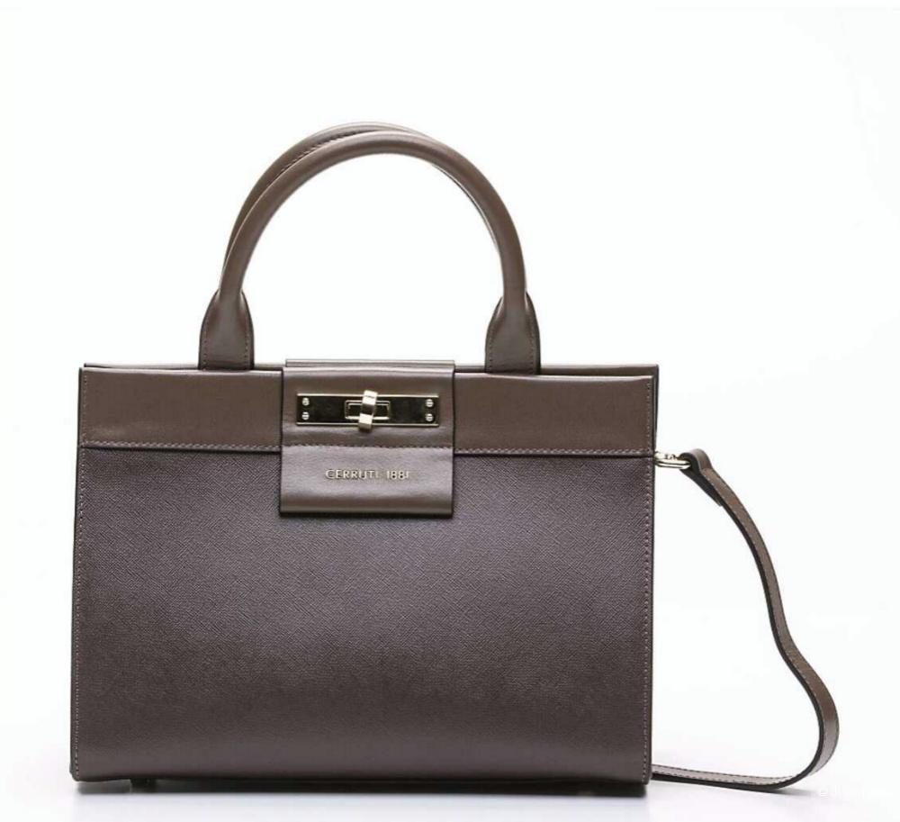 Женская кожаная сумка Cerruti 1881