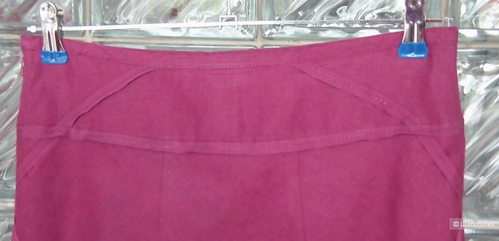 Летняя юбка Mexx цвета фуксии, 100 % лен, S