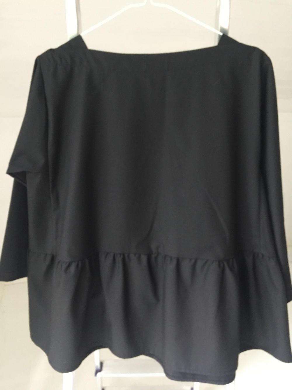 Блузон черный VENDY TRENDY, размер 46-56