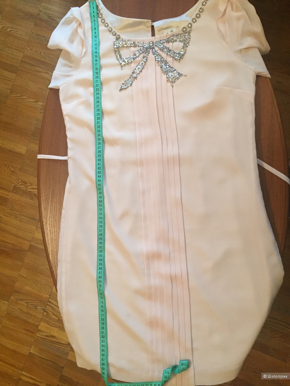 Платье Oasis bow Front pleat dress р.44-46/ uk 12- eu 38