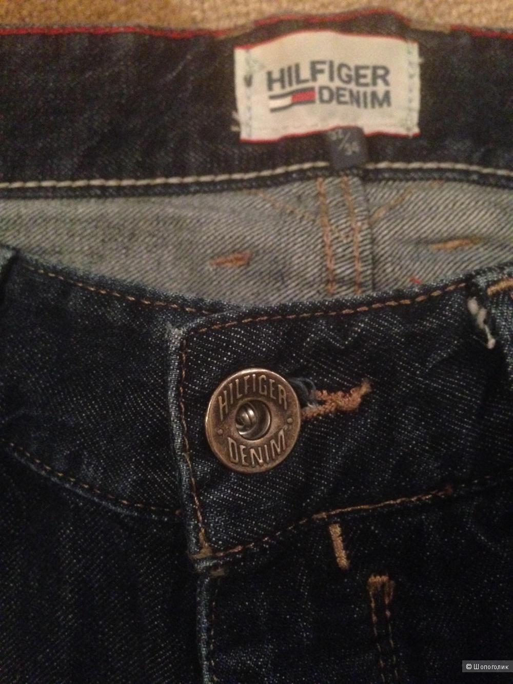 Мужские джинсы Tommy Hilfiger размер 32/34 (большемерят)
