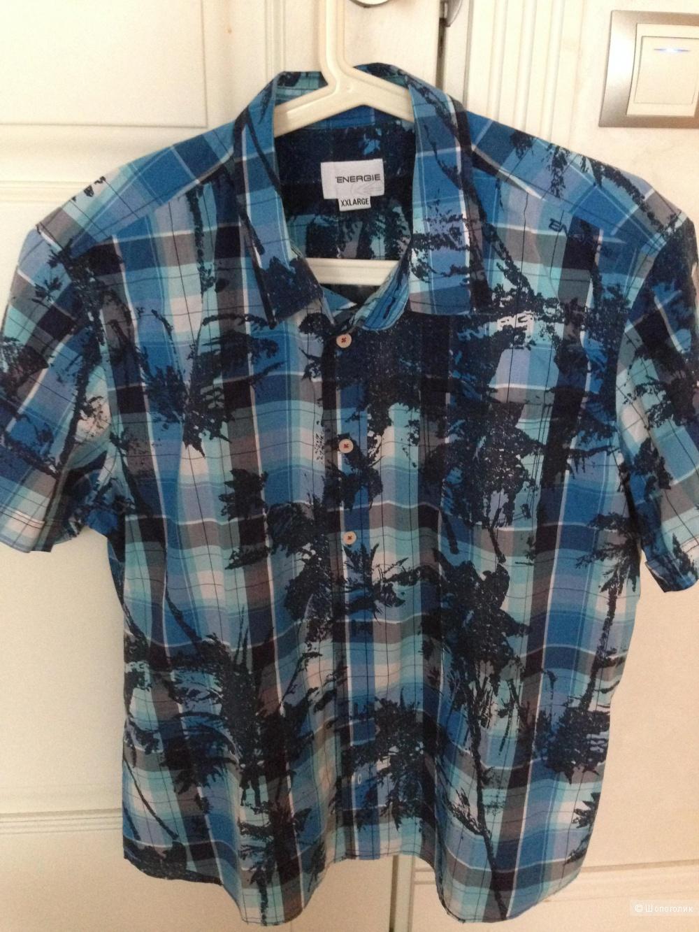 Мужская рубашка Energie (Италия) размер XXL (маломерка)