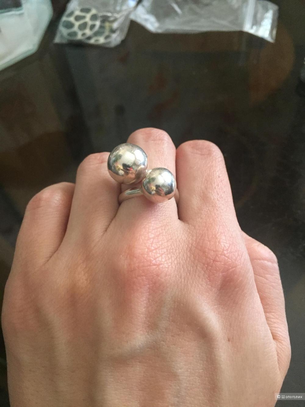 Новое серебряное колечко 16,5 размер