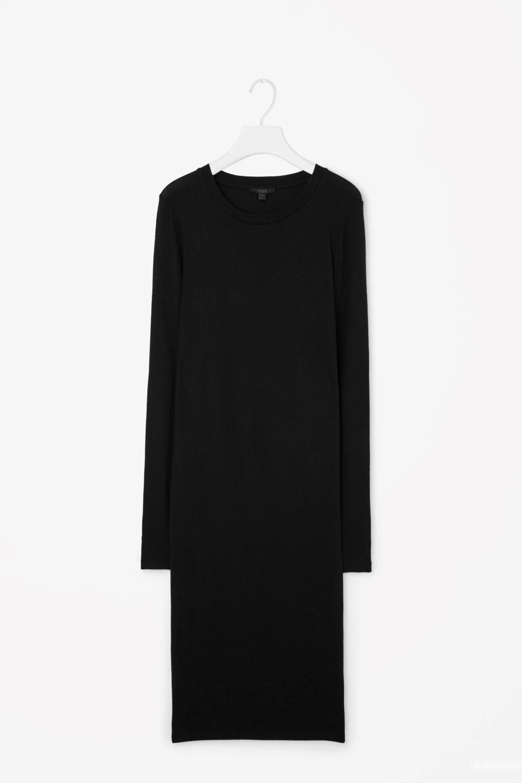 Классное прямое платье COS / шерсть хлопок