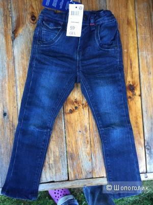 Новые джинсы на мальчика Okaidi 3 года